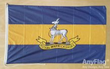 ROYAL WARWICKSHIRE FUSILIERS ANYFLAG RANGE - VARIOUS SIZES